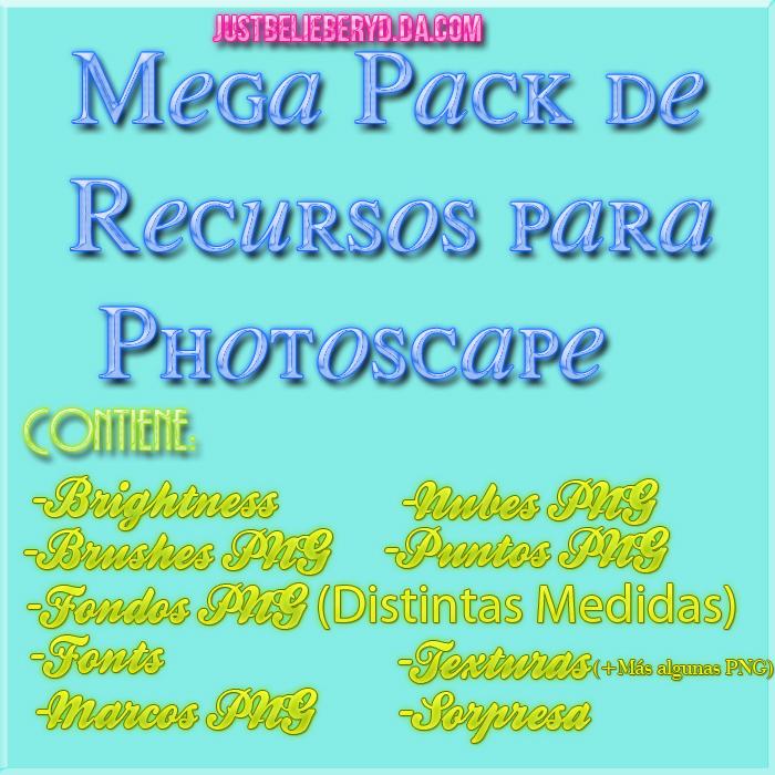 Mega Pack de Recursos Para Photoscape #1 by JustBelieberYD