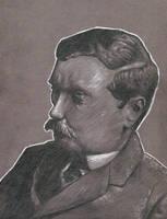 Portrait Series: H. G. Wells by matkaminski