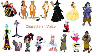 Characters I Voice