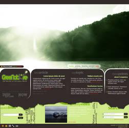 Green Nature web design