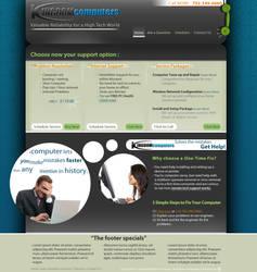 Kingdom Computers web-design