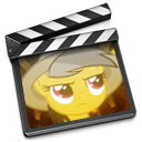 daring do imovie icon by rhubarb-leaf