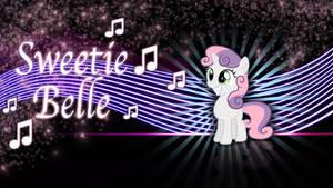 Happy Sweetie Belle wallpaper