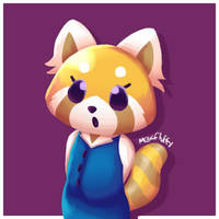 Aggresive Retsuko by MegaFluffy99