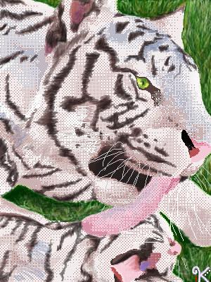 tiger tiger by utterly-flutterly
