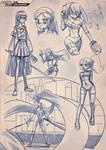Batsu Jump Sketch concept