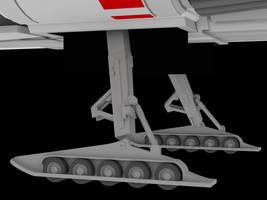 Rear Gear closeup by Greywolf-Starkiller