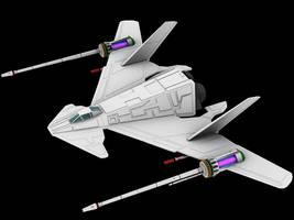 Wing Commander's F-36 Hornet by Greywolf-Starkiller