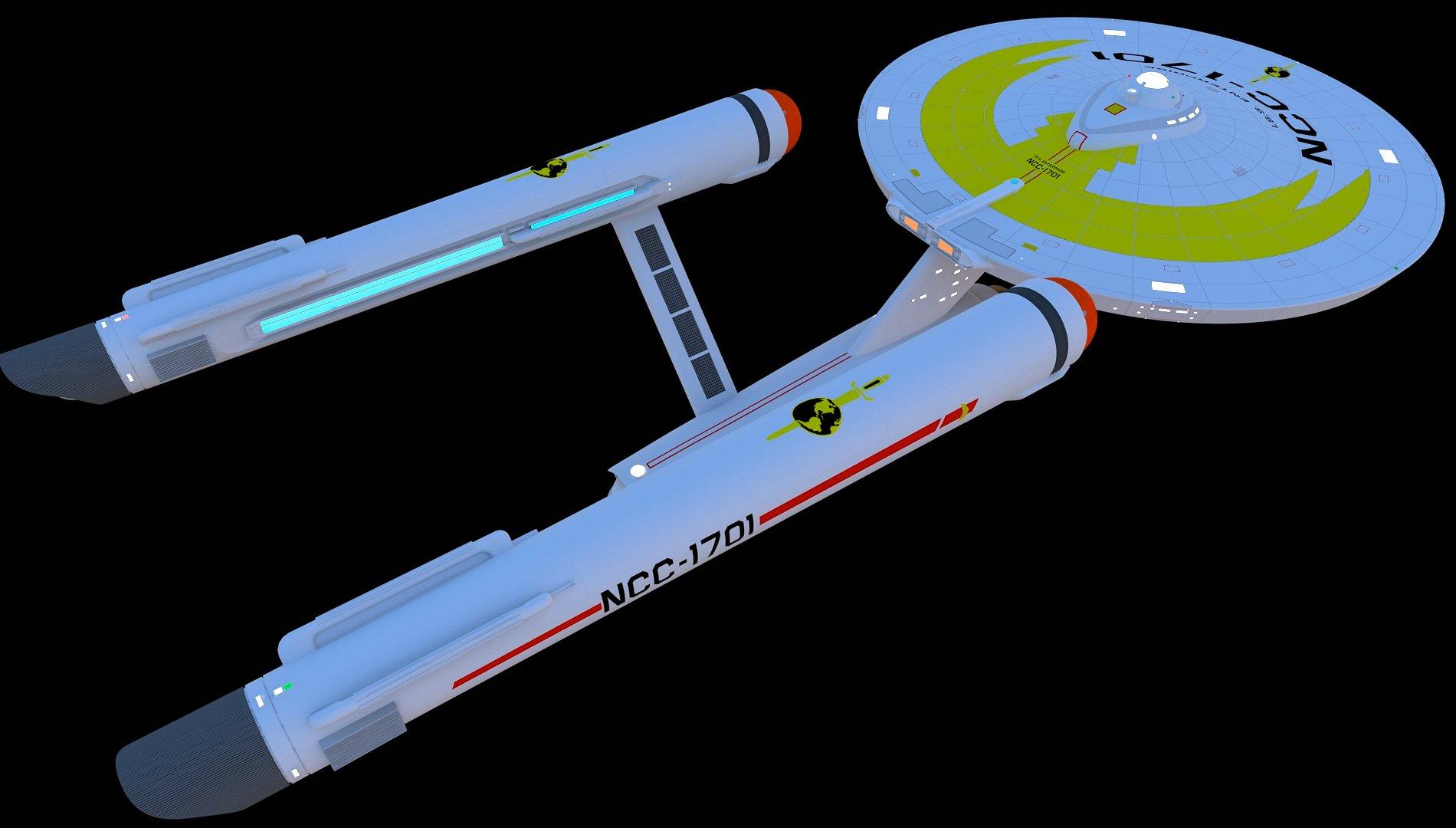 ISS Enterprise by Greywolf-Starkiller