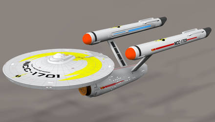 ISS Enterprise in Poser 7