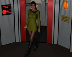 T'Leeri, Capt. of USS Potemkin by Greywolf-Starkiller