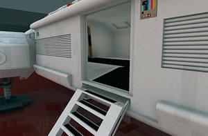 The retractable stairs. by Greywolf-Starkiller