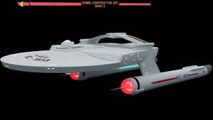 TOS USS Miranda by Greywolf-Starkiller