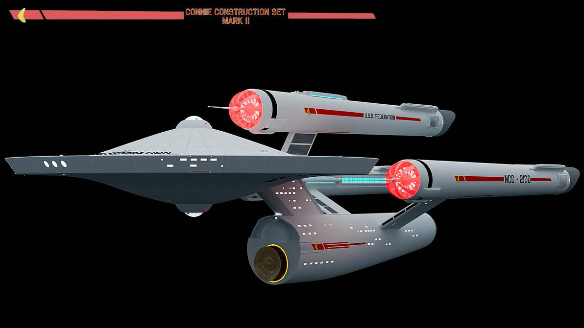 Connie Project MKII Dreadnaught by Greywolf-Starkiller
