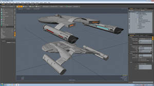 TOS Akira - Early WIP by Greywolf-Starkiller