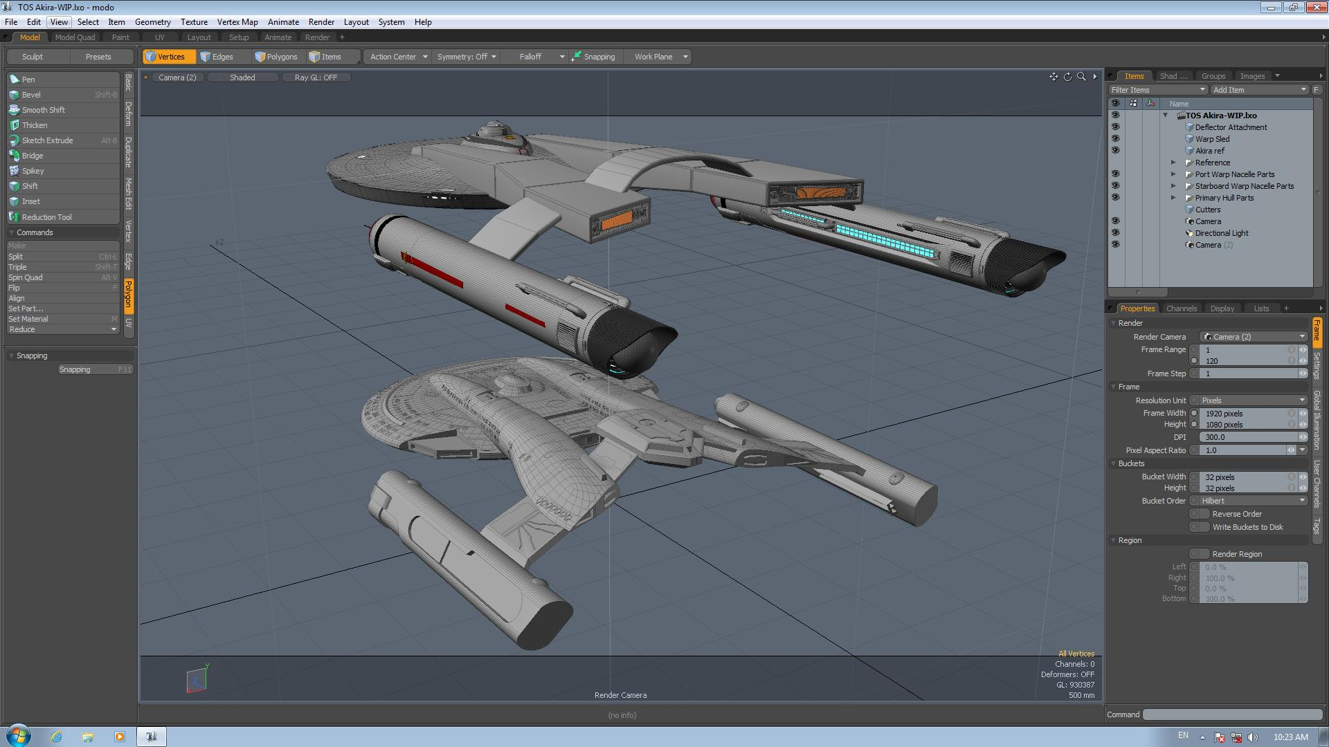 TOS Akira - Early WIP