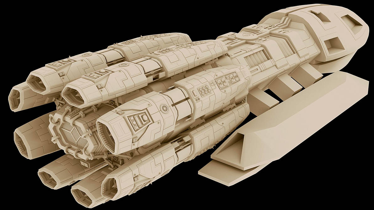 F3D-Kraken 17 with roughed out sections by Greywolf-Starkiller