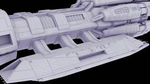 F3D-Kraken 27e - Detailing the Landing Bays Contin by Greywolf-Starkiller