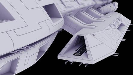 F3D-Kraken 28b - Detailing the Landing Bay Interio by Greywolf-Starkiller