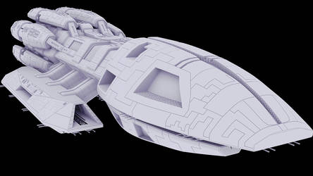 F3D-Kraken 29a - Detailing the Hammerhead-Windows by Greywolf-Starkiller