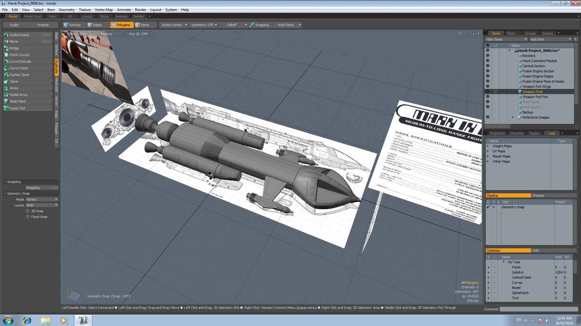 Hawk Project 5 by Greywolf-Starkiller