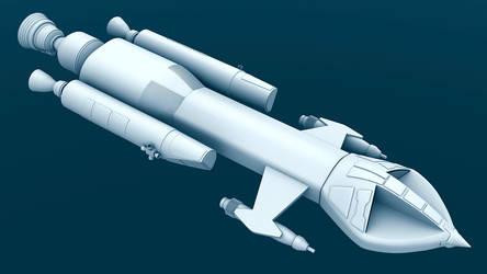 Mark IX Hawk - WIP by Greywolf-Starkiller