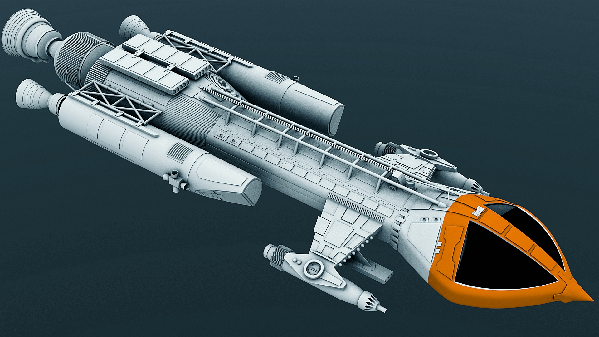 Mark IX Hawk - WIP24 by Greywolf-Starkiller