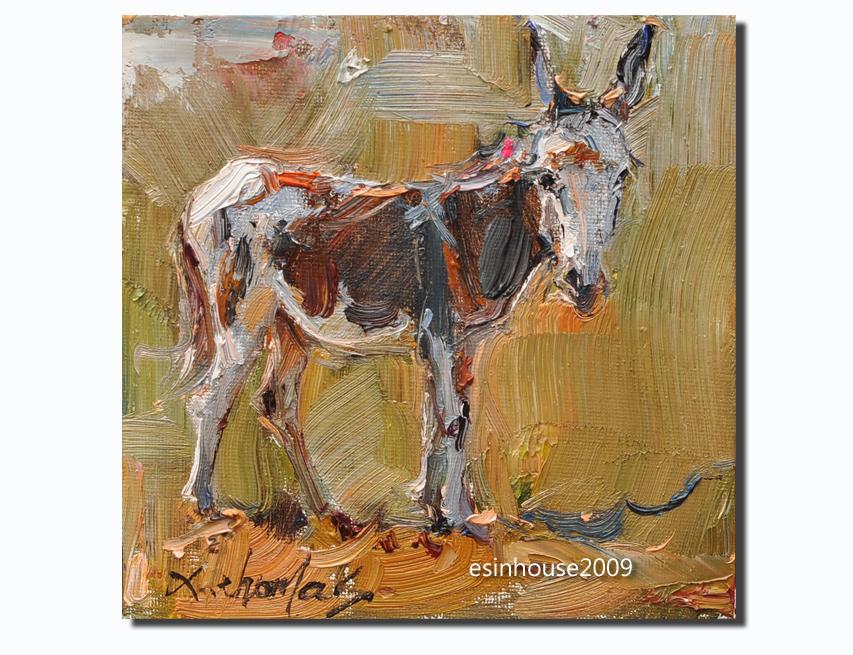 donkey15x15cm by esinhouse2009