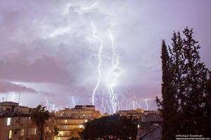 lightning city