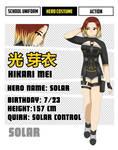[BNHA OC] Hikari Mei (redesign)