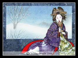 Kurokami II by Qiu-Ling