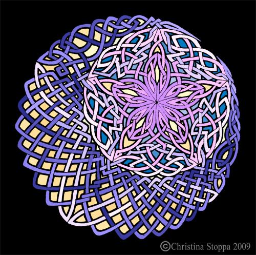 Stella Luna Knot by Qiu-Ling