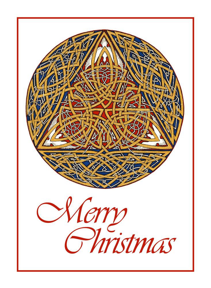 Trinity (Merry Christmas Card) by Qiu-Ling