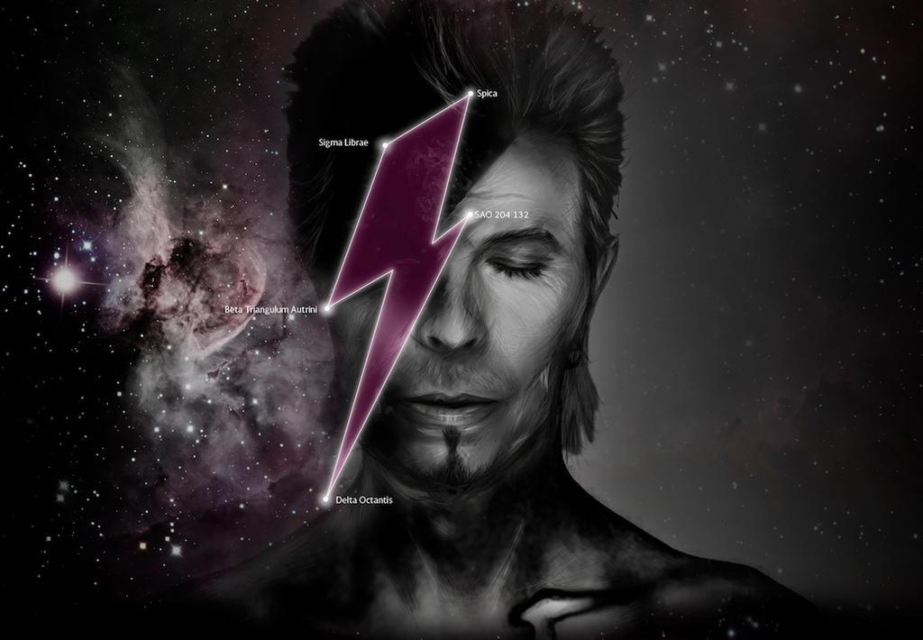 David Bowie / Ziggy Stardust by chrisdangerous
