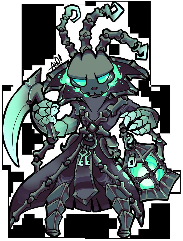 The Chain Warden by adrusaurio on DeviantArt League Of Legends Thresh Png