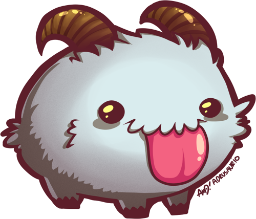 PORO by adrusaurio on DeviantArt