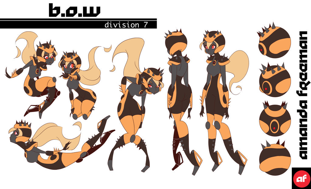Character Design Free : B o w character design sheet by free man on deviantart