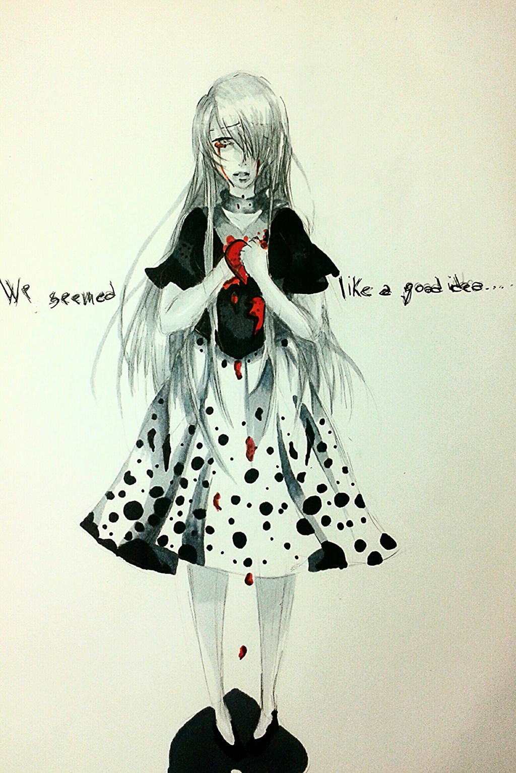 .: My heart is falling to P I E C E S:. by MinatoP3-Tatty
