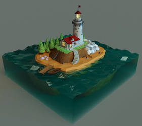 Lighthouse by deshem
