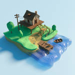 The lake house by deshem