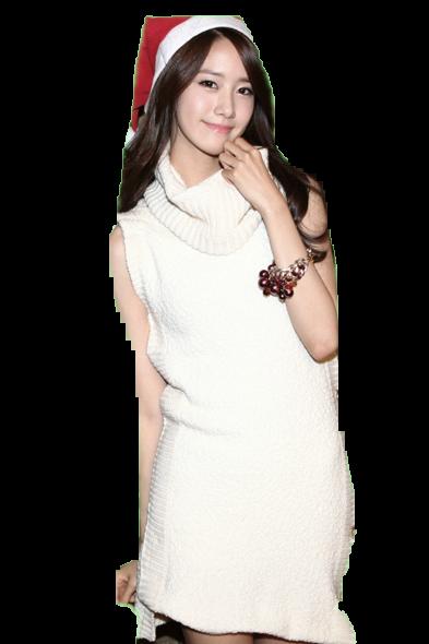 Yoona Christmas PNG by yoonaddict150202