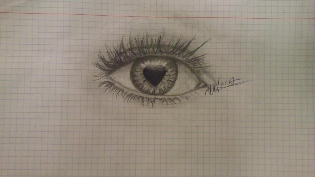eye sketch by pinkfan777