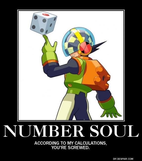 MegaMan Number Soul Poster by eeeeeeeyyyyyy