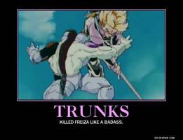 Future Trunks Poster by eeeeeeeyyyyyy