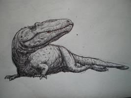 Giganotosaurus by DinoHunter000