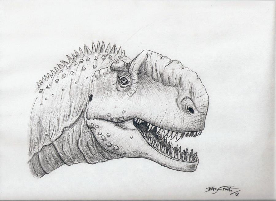 Monolophosaurus by DinoHunter000