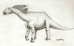 Amargasaurus by DinoHunter000