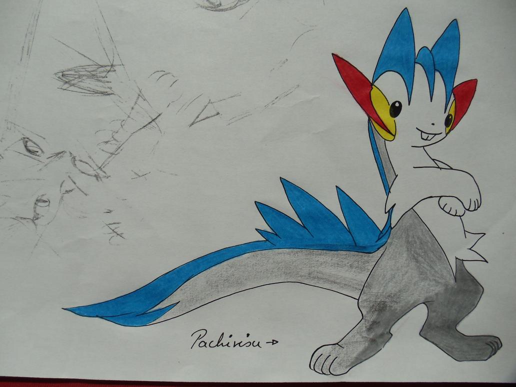 pachirisu evolution 2008 by  Pachirisu Evolution