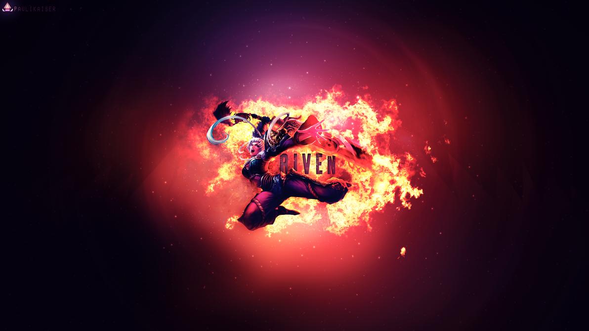 Dragonblade Riven Wallpaper By Paulikaiser