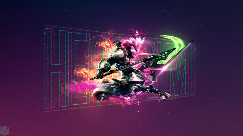 Arcade Hecarim Wallpaper by Paulikaiser on DeviantArt